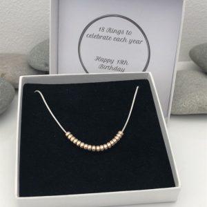 18th birthday necklace 5e456ccc
