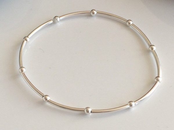 delicate sterling silver bracelet 5e45723e