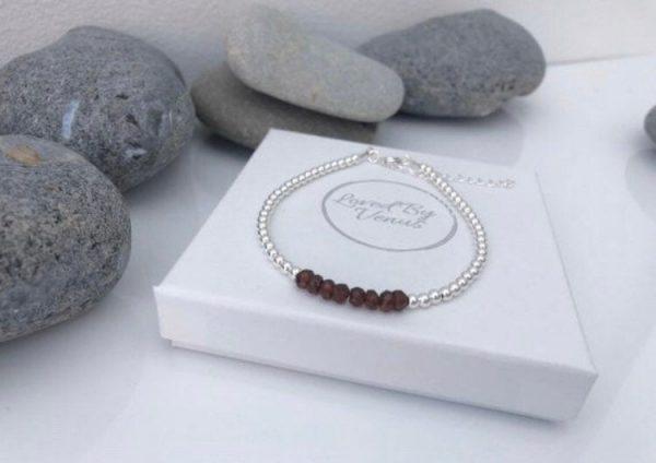 garnet bracelet 5e456d91