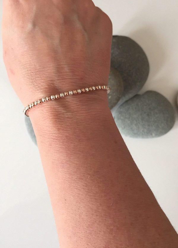 mixed metal beaded bracelet 5e459c1c scaled