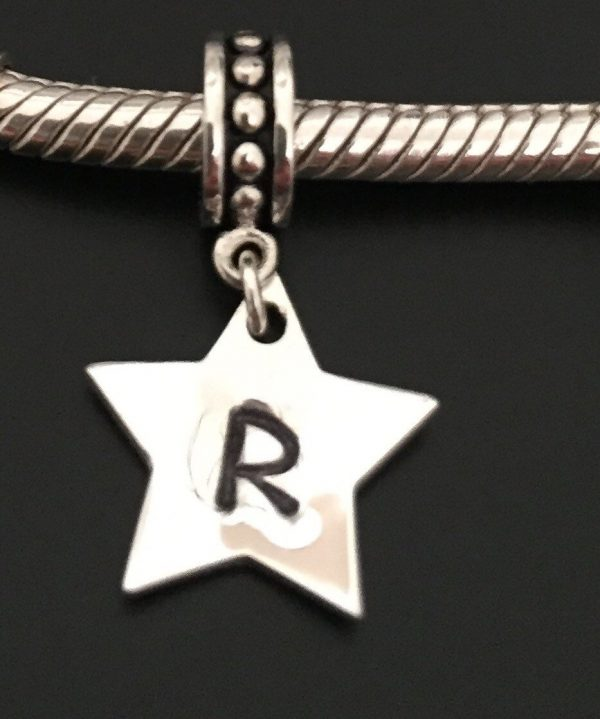 personalised star charm 5e45a538