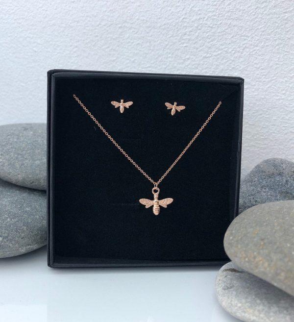rose gold bumblebee jewellery 5e456d15