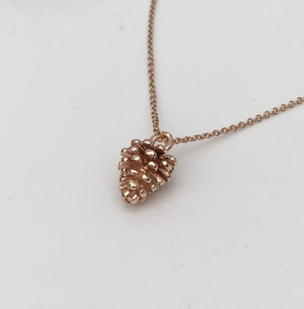 rose gold pinecone necklace 5e45bfc5