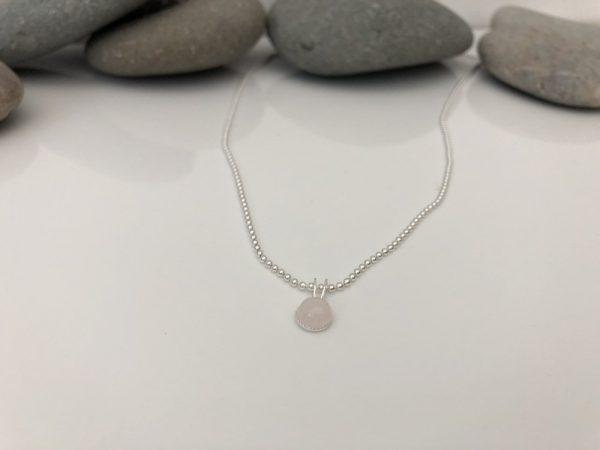 rose quartz necklace 2 5e45a00a