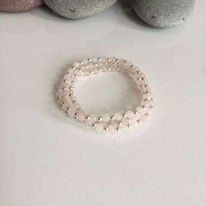 rose quartz stacking bracelets 5e459cf6 scaled