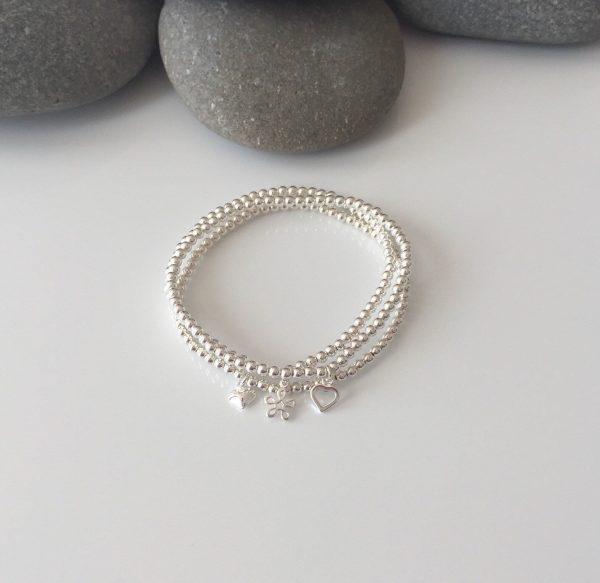 set of 3 sterling silver stacking bracelets 5e456d24