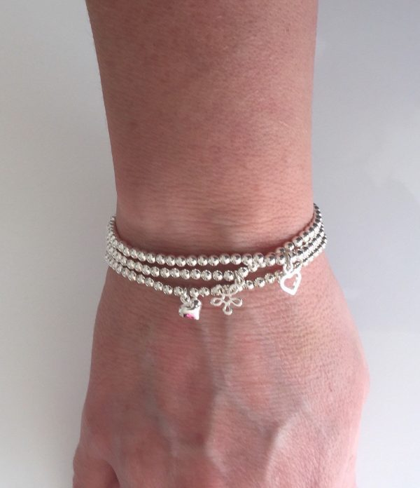 set of 3 sterling silver stacking bracelets 5e456d28