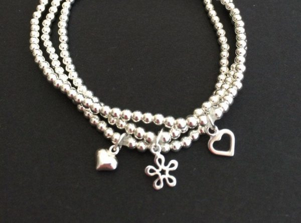 set of 3 sterling silver stacking bracelets 5e456d36