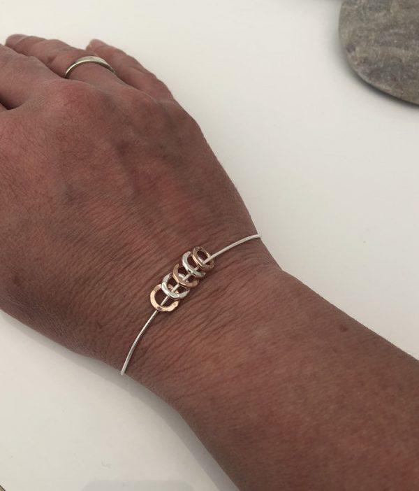 silver 40th birthday bracelet 40 birthday gift 2 5e45762a