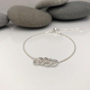 silver 40th birthday bracelet 40 birthday gift 2 5e45762e