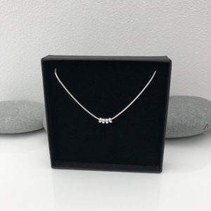 silver 40th birthday necklace 40 birthday gift 2 5e459958