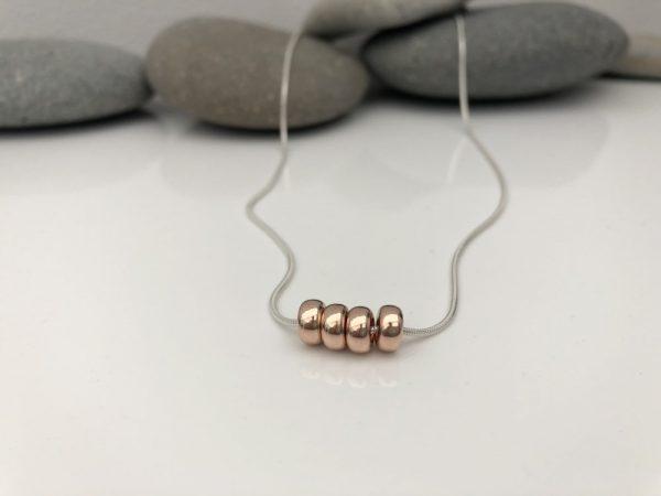 silver 40th birthday necklace 40 birthday gift 3 5e459a29