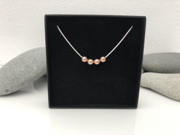 silver 40th birthday necklace 40 birthday gift 5e459843