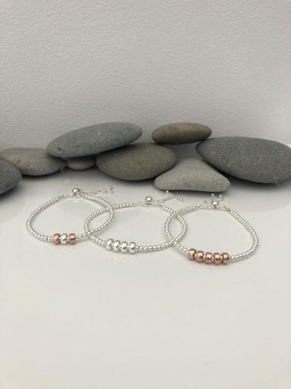 silver 50th birthday bracelet 50 birthday gift 3 5e457216