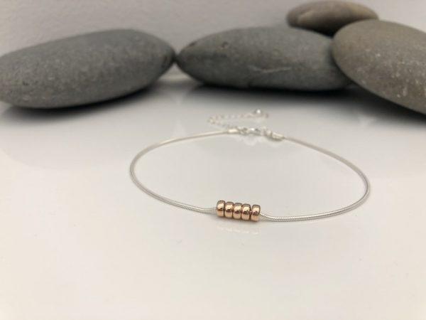 silver 50th birthday bracelet 50 birthday gift 4 5e457326