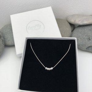 silver 50th birthday necklace 50 birthday gift 2 5e456dad