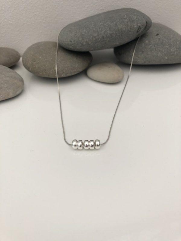 silver 50th birthday necklace 50 birthday gift 4 5e45730f