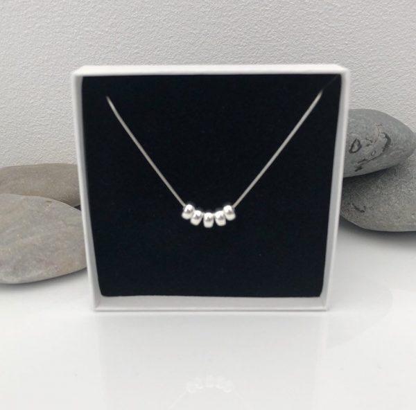 silver 50th birthday necklace 50 birthday gift 4 5e457316