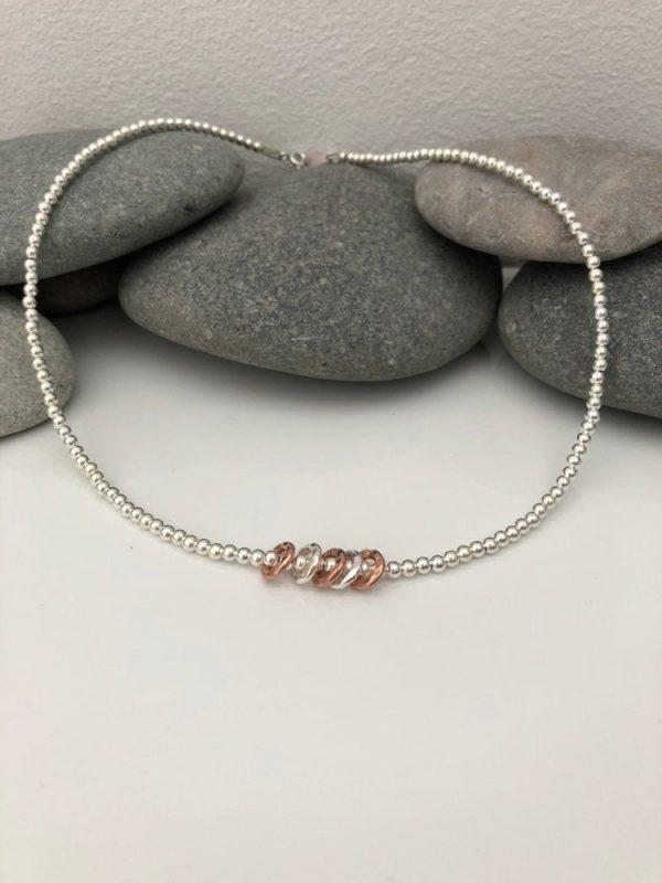 silver 50th birthday necklace 5e456eea