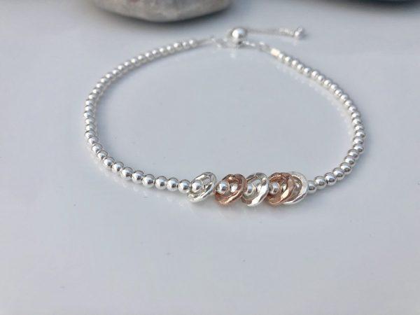 silver 60th birthday bracelet 5e456f6b scaled