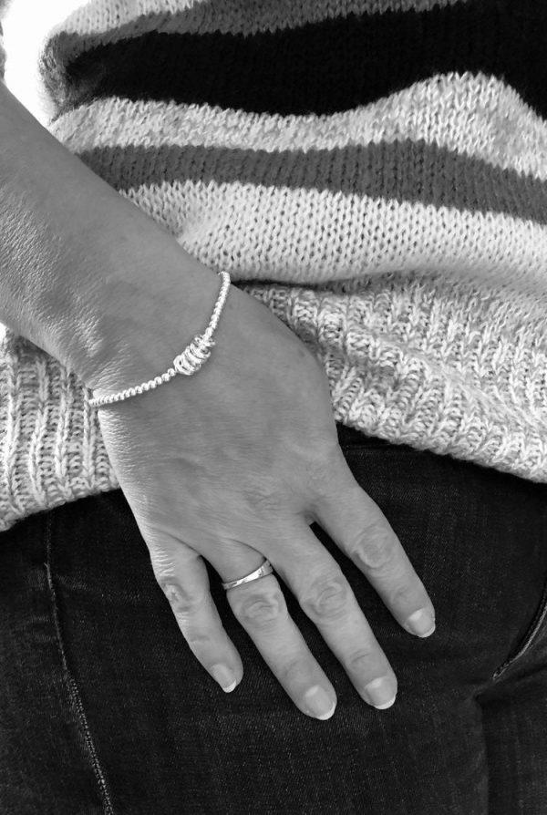silver 60th birthday bracelet 5e456f71