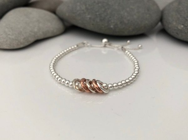 silver 60th birthday bracelet 5e456f7b