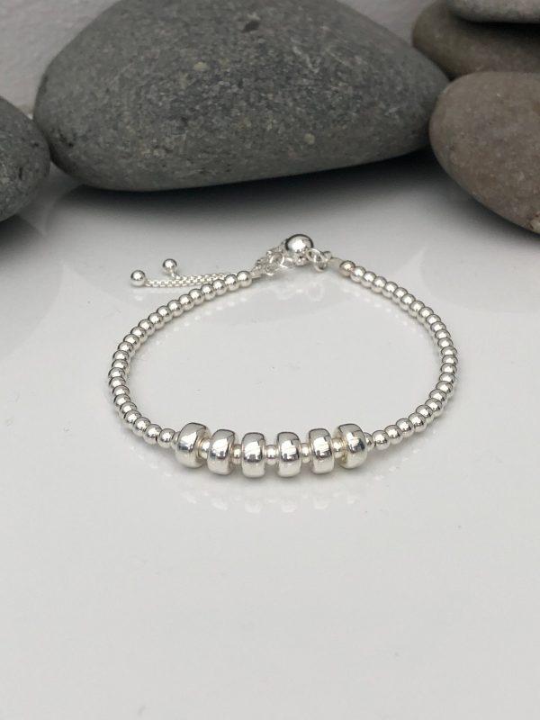 silver 60th birthday bracelet 60 birthday gift 3 5e456bd9 scaled