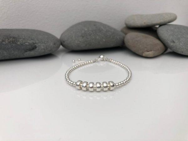 silver 60th birthday bracelet 60 birthday gift 3 5e456bf1 scaled