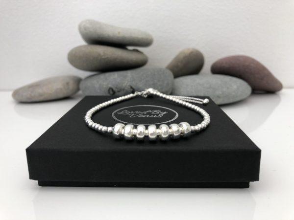 silver 70th birthday bracelet 70 birthday gift 5e459fc5 scaled