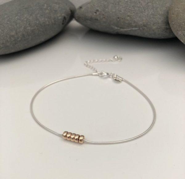 silver 80th birthday bracelet 80 birthday gift 5e459979