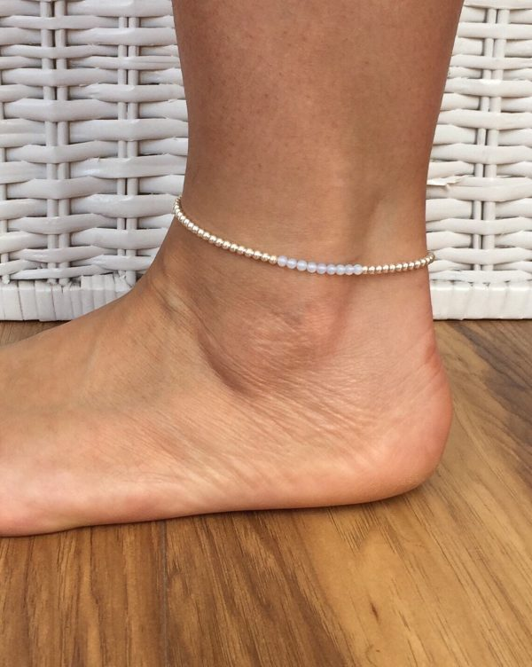 silver and moonstone anklet 5e4574e4