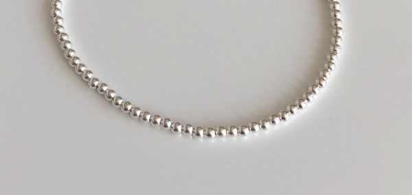 silver beaded anklet 2 5e4597e3