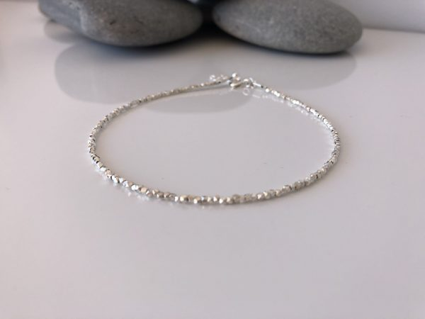 silver beaded anklet 5e45728c scaled