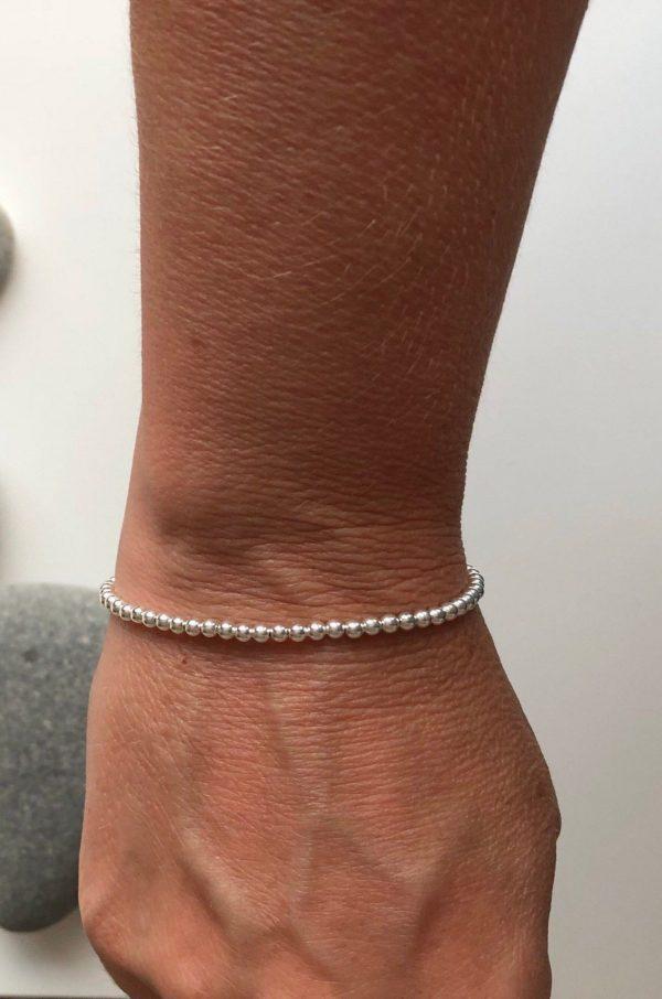 silver beaded bracelet 5e457401 scaled
