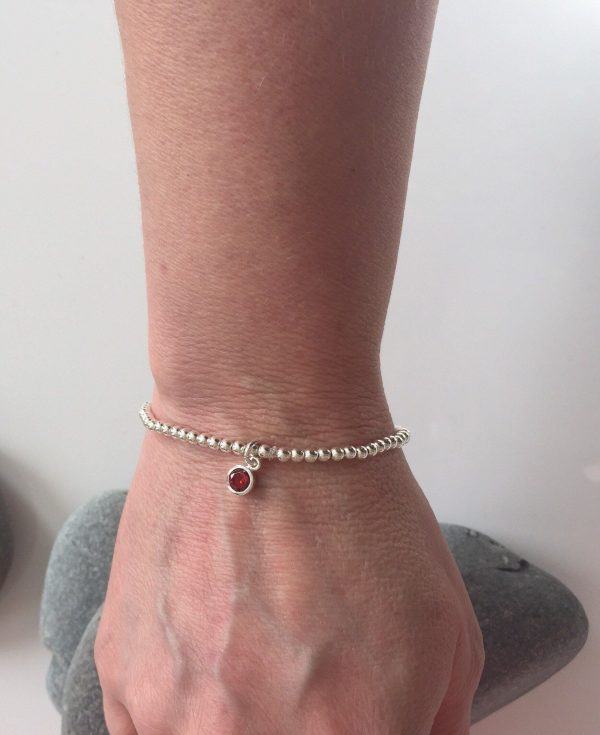 silver birthstone bracelet 5e45ce5a