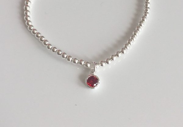 silver birthstone bracelet 5e45ce68