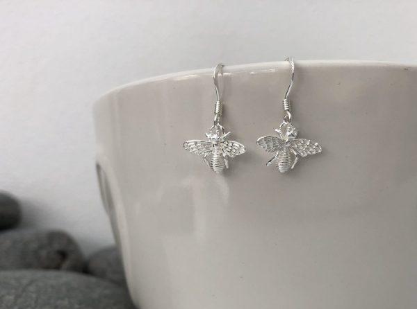 silver bumblebee earrings 5e45ac56 scaled