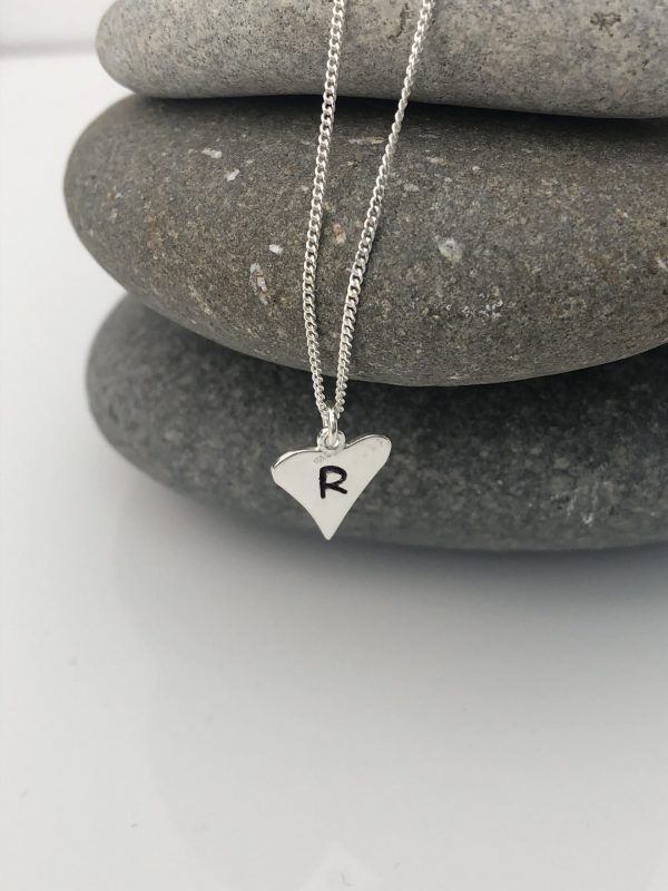 silver personalised heart necklace 5e4570ca scaled