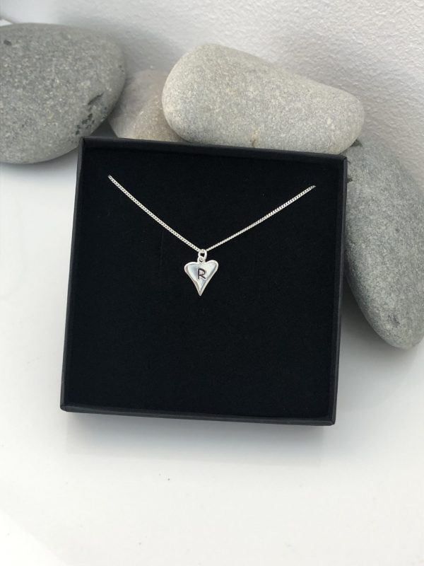 silver personalised heart necklace 5e4570dc scaled