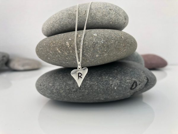 silver personalised heart necklace 5e4570e3 scaled