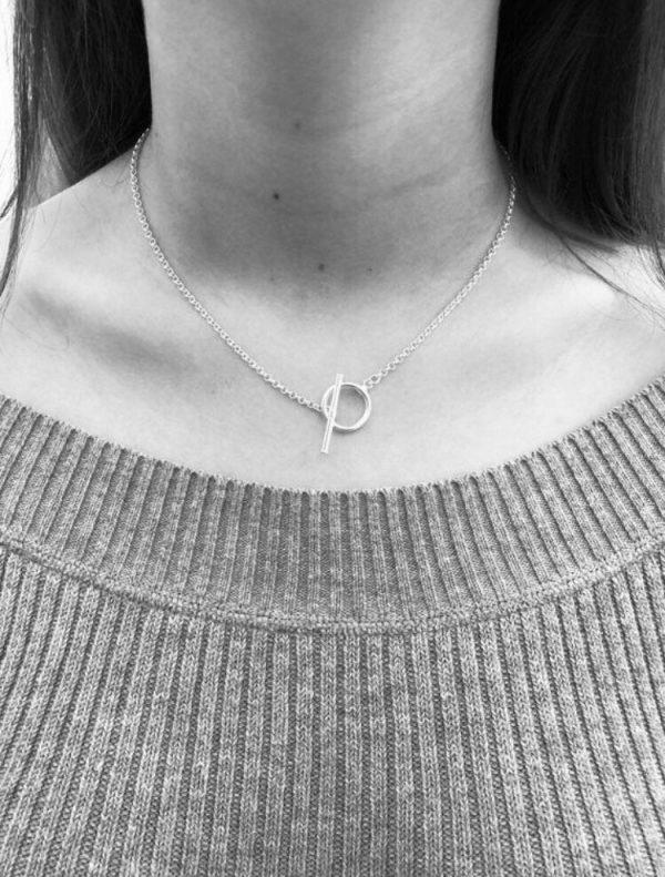 silver toggle necklace 5e457645