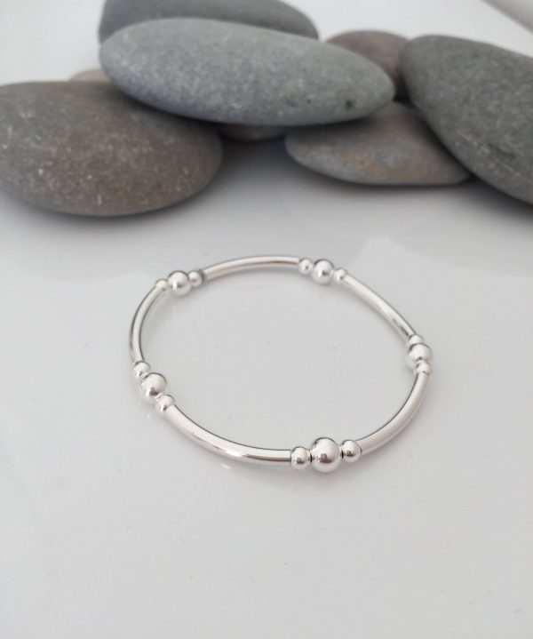 silver tube bracelet 5e45a3d0 scaled
