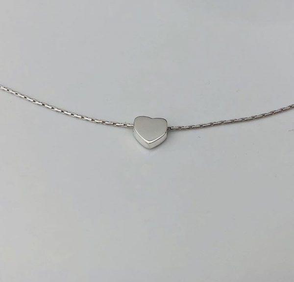 simple heart necklace 5e457712