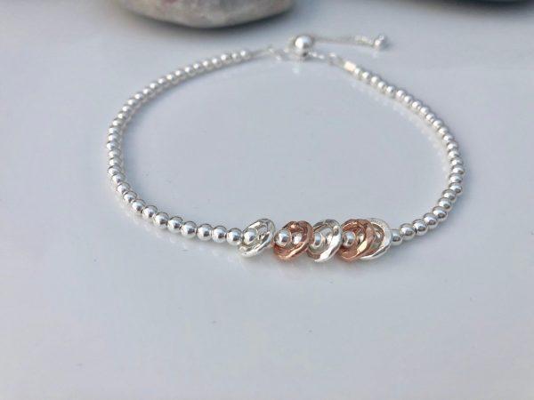 sterling silver 40th birthday bracelet 2 5e456c6c scaled