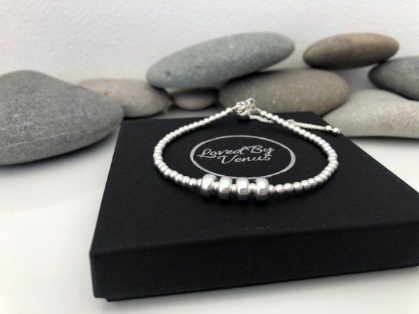 sterling silver 40th birthday bracelet 5e4569ba