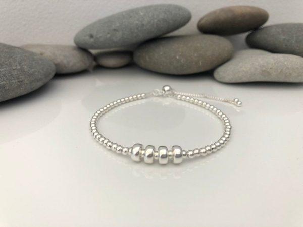 sterling silver 40th birthday bracelet 5e4569c0