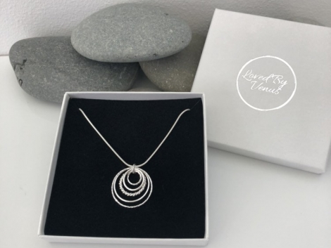 sterling silver 50th birthday necklace 5e4569ed