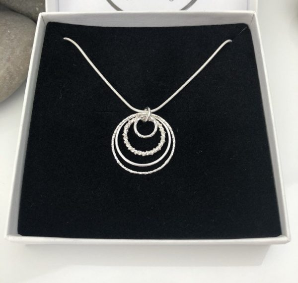 sterling silver 50th birthday necklace 5e4569fc