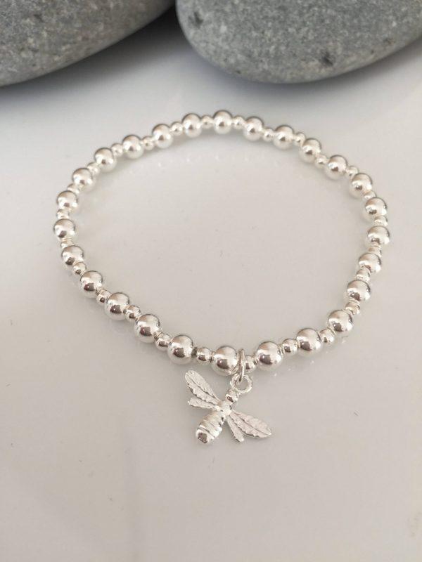 sterling silver bee bracelet 5e45bd6e scaled