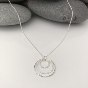 sterling silver circle necklace 5e45a495 scaled